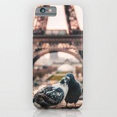 Lover Doves in Paris iPhone 6s Slim Case