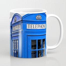 Red Booths Turned Tardis Coffee Mug