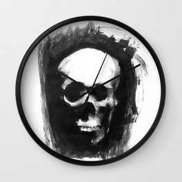 Skull Ink 3 Wall Clock