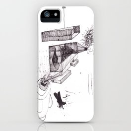 two brothers. Scream and Shout. iPhone Case
