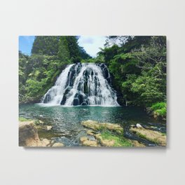 Chasing Waterfalls || Metal Print