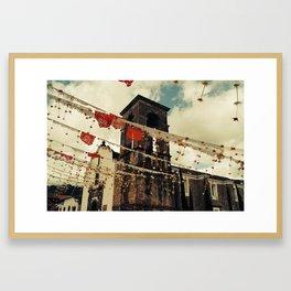 Composturas Framed Art Print