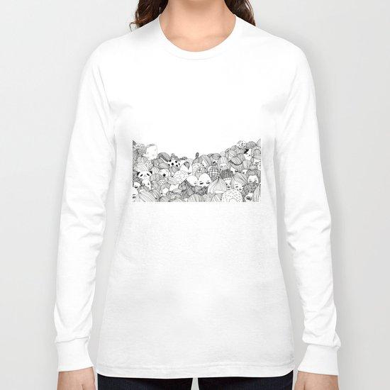 Human Jungle  Long Sleeve T-shirt