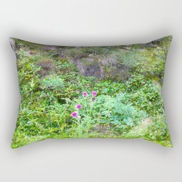 Mountain wildflowers Rectangular Pillow
