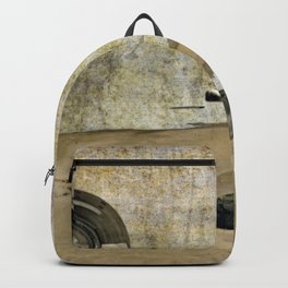 Aliens beached Backpack