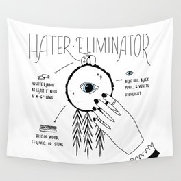 Hater Eliminator - How To Wall Tapestry