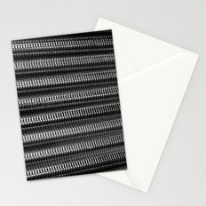 Silver Twisting Threads Stationery Cards