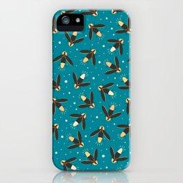 July Fireflies iPhone Case