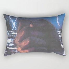 Hand Of Doom Rectangular Pillow