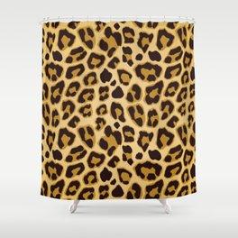Leopard Skin Pattern Shower Curtain