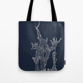 Narragansett Bay Indigo Tote Bag