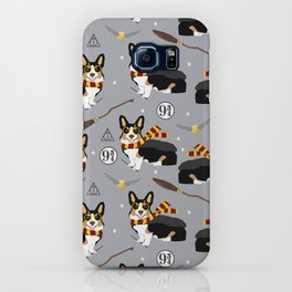 Corgi tricolored witch wizard magic dog breed gifts iPhone Case