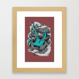 Anchor Affection Varient Framed Art Print