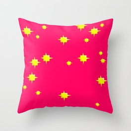 ChinaPink Throw Pillow