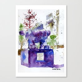20141206 Bird@UOBPlaza Canvas Print