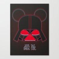 vader Canvas Prints featuring Vader  by danvinci