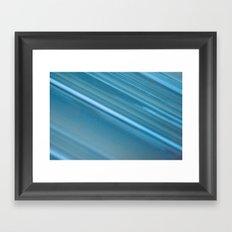 LINES OF BLUE #1 #decor #art #society6 Framed Art Print
