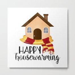 Happy Housewarming Metal Print
