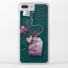 The Art of Tea II Clear iPhone Case