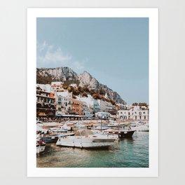 banchinella porto, italy Art Print