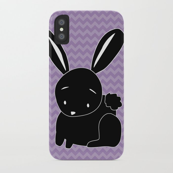 Funny Bunny iPhone Case