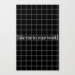 Grid #1 Canvas Print
