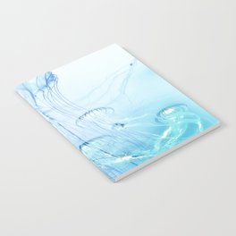 Jellyfish Double Exposure Notebook
