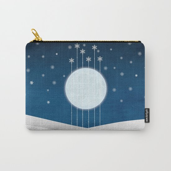 snow night Carry-All Pouch
