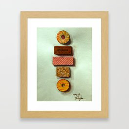 Confection's dream Framed Art Print