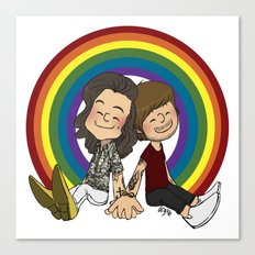 Rainbow Pals Canvas Print