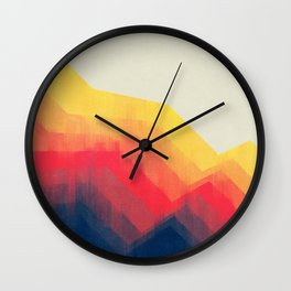 Sounds Of Distance Wall Clock