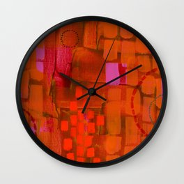Brick Layers Wall Clock