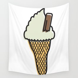 sOFFt set Ice cream Wall Tapestry