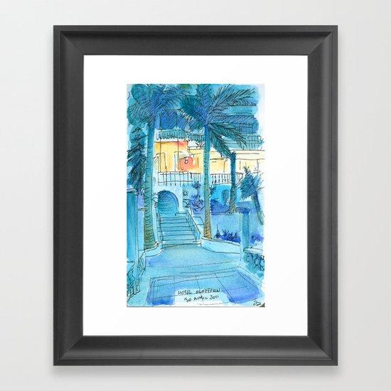 Hotel Olofson Framed Art Print