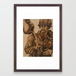 Duality of Man: Part 1 Framed Art Print