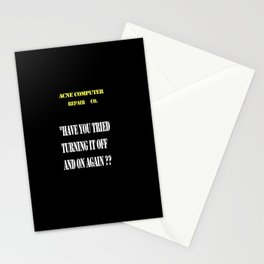 Computer repair Stationery Cards