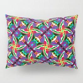 Funky Festival Geo - Festival Geometric Pattern 1 Pillow Sham