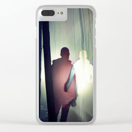Solace in Solitude Clear iPhone Case