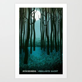 Transfigured Night - Verklarte Nacht  - Schoenberg Art Print