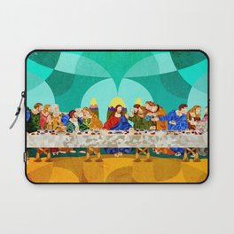 Curves - Last Supper Laptop Sleeve