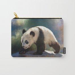 Cute panda bear baby Carry-All Pouch
