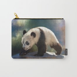 Cute panda bear baby Carry-All Pouch