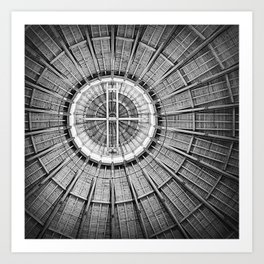 Roundhouse Architecture Art Print
