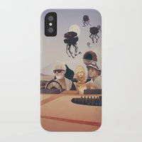 fear and loathing iPhone & iPod Cases featuring Fear and Loathing on Tatooine by Anton Marrast
