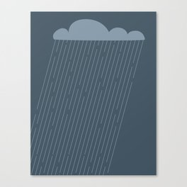 Rainy Canvas Print