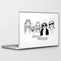 cactei Laptop & iPad Skins featuring Sticky Fingers  by ☿ cactei ☿