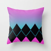 charlie Throw Pillows featuring Charlie by Charlene McCoy