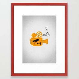 Cinema Framed Art Print