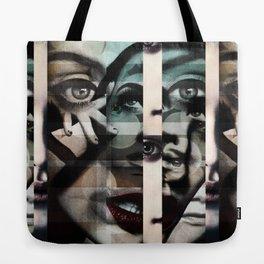 face mash up #2 Tote Bag