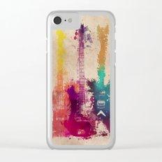 guitars 2 Clear iPhone Case